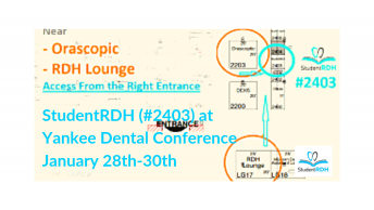yankee dental conference, studentrdh, dental hygiene exam prep
