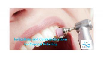 coronal polishing, dental hygiene exam prep