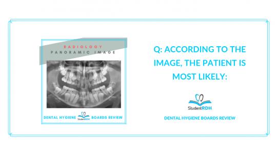 radiology dental hygiene exam prep