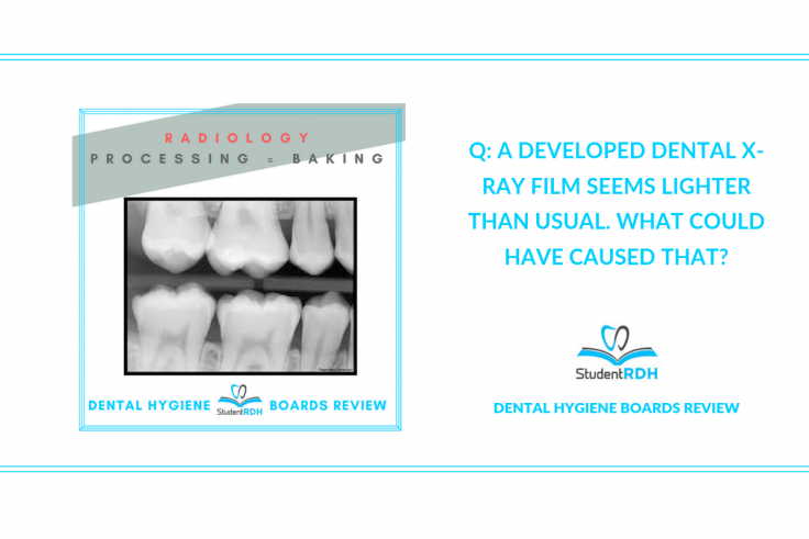 radiology dental hygiene board review